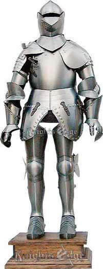 Suit of Armor - Full Size, Articulated and Wearable by Knights Edge